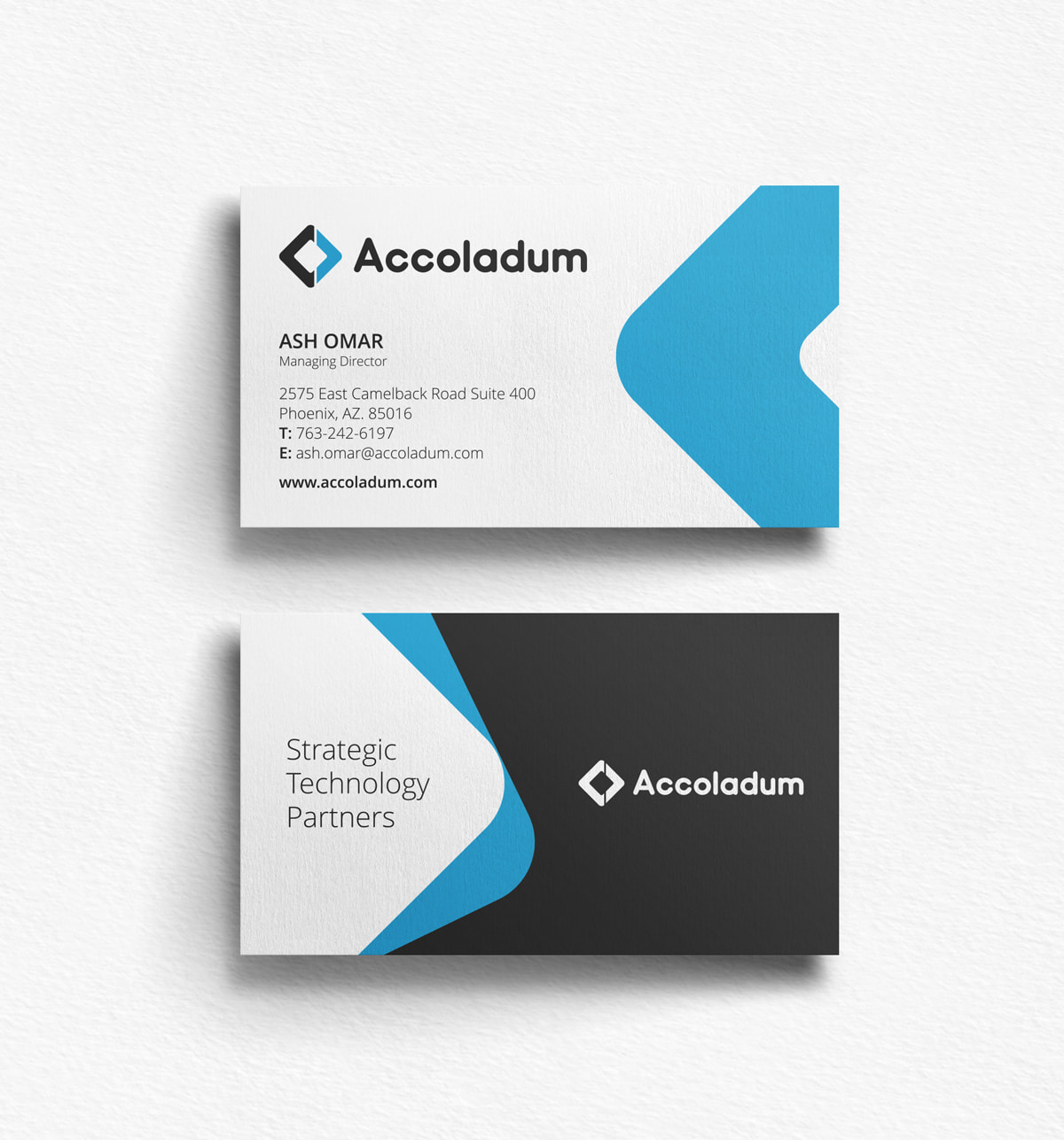 Business-Card Accoladum