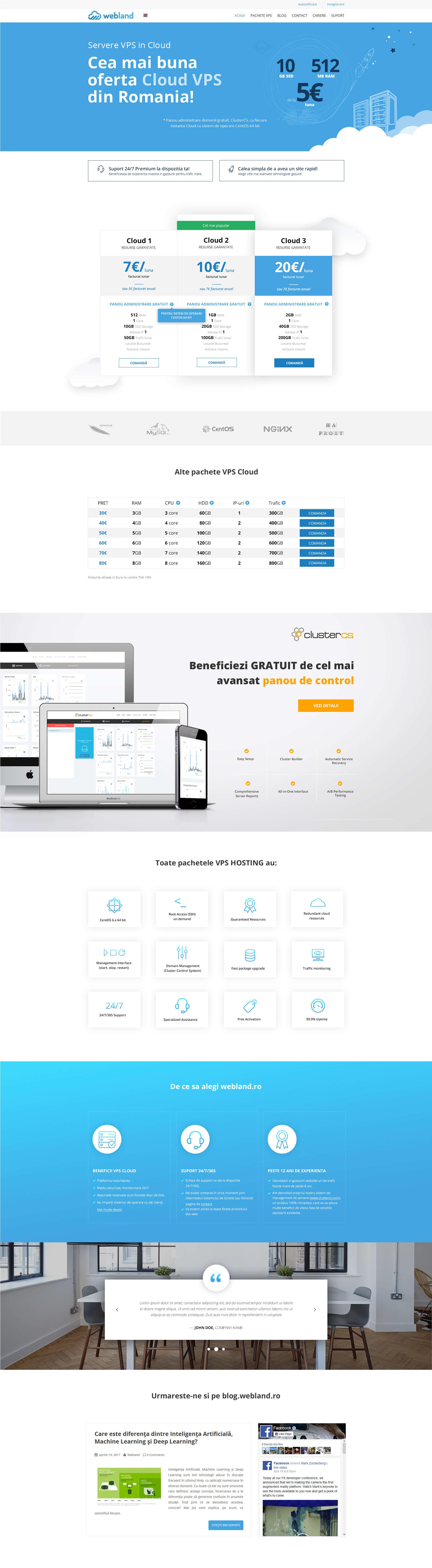 Webland.ro Homepage