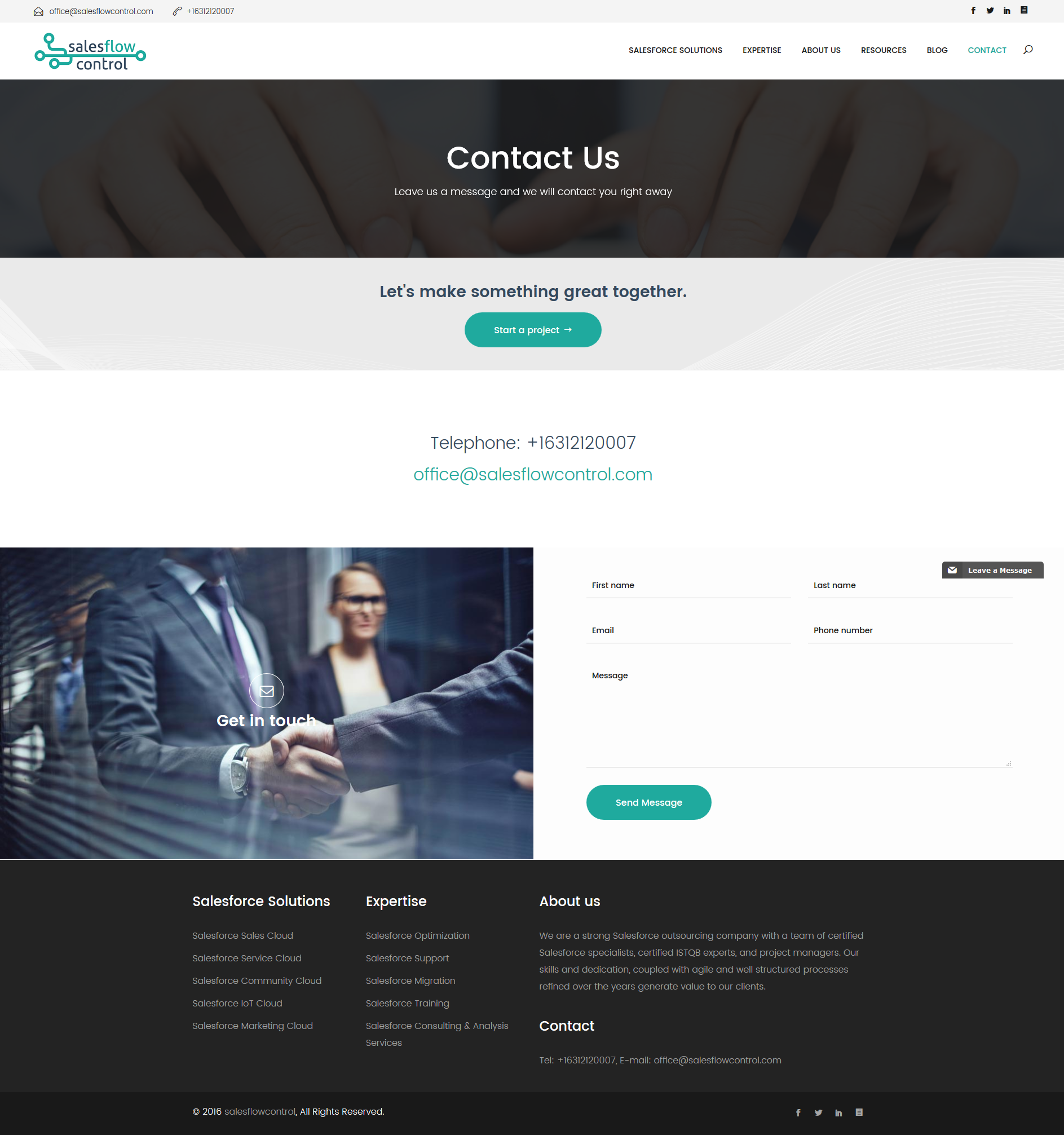 Salesflowcontrol Contact