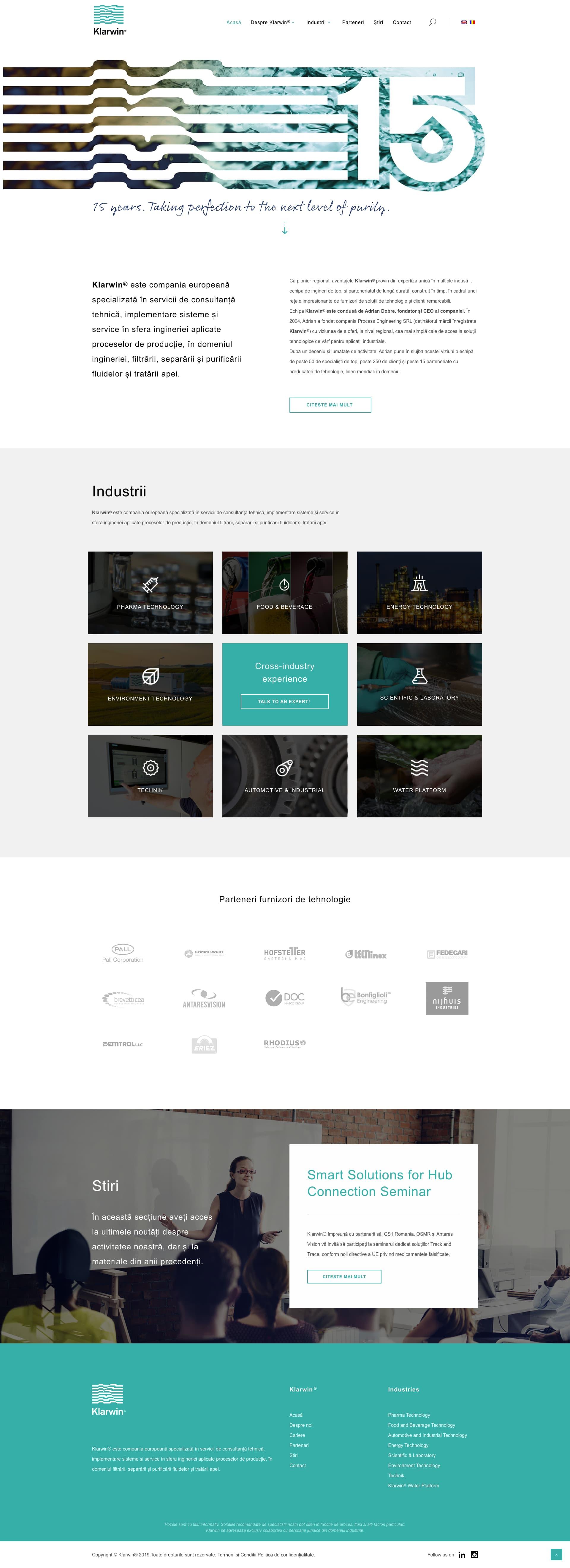 klarwin-homepage